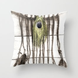 Feathered Dreams Throw Pillow