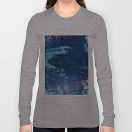 Cosmic fish, ocean, sea, under the water Long Sleeve T-shirt