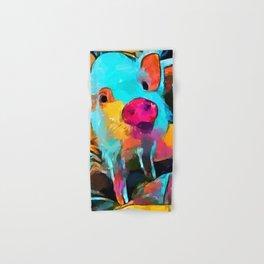 Mini Pig Hand & Bath Towel