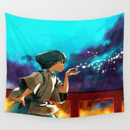 The Dragon Boy Wall Tapestry