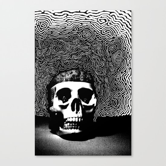 caveira Canvas Print