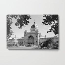 Melbourne monochrome viii Metal Print