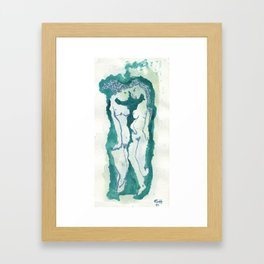 One Mind Framed Art Print