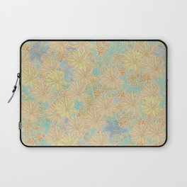 Antique Floral Good Old Days (plain) Laptop Sleeve