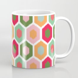 ikat honeycomb tutti fruit #homedecor Coffee Mug