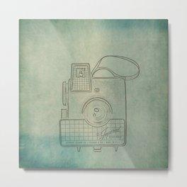 Camera Study no. 2 Metal Print