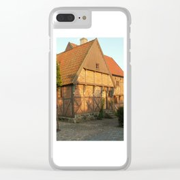 Old Architecture Of Ystad Clear iPhone Case