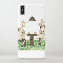Sheep knitting iPhone Case