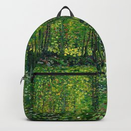 Vincent Van Gogh Trees and Undergrowth 1887 Backpack