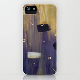 Violet Butterfly iPhone Case