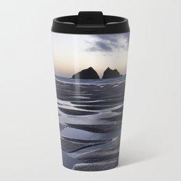 Gull Rock, Holywell Bay, Cornwall, England, United Kingdom Travel Mug