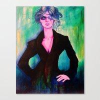 denver Canvas Prints featuring Denver by Olga Noes