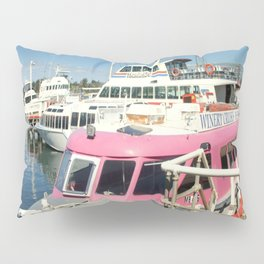 Colourful Boat Pillow Sham