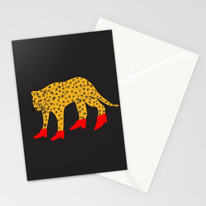 Red Boots Stationery Cards
