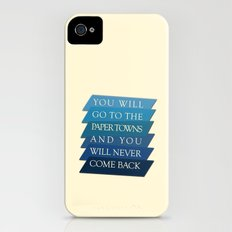 you will go to the paper towns iPhone (4, 4s) Slim Case