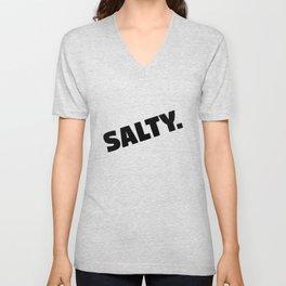 Salty. Unisex V-Neck