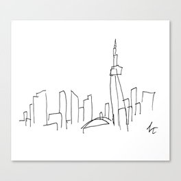 I Dream Of A Different Skyline Canvas Print