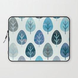 Watercolor Forest Pattern #2 Laptop Sleeve