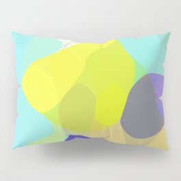 Aqua Abstract Pillow Sham