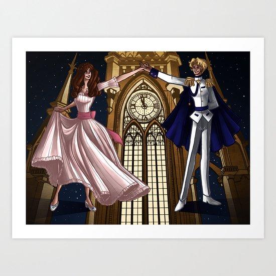 Cinderella - Before Midnight Art Print