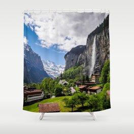 Lauterbrunnen Shower Curtain
