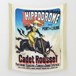 Hippodrome Paris Wall Tapestry