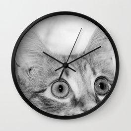What's New KittyCat Wall Clock