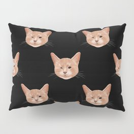 Kiki, the pretty blind cat Pillow Sham