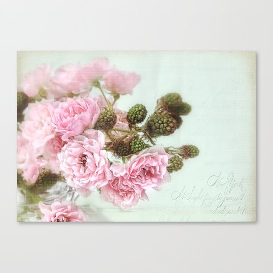 roses & berries  Canvas Print