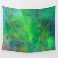 emerald Wall Tapestries featuring Emerald  by Christy Leigh