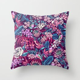 Stand Out! (ultraviolet) Throw Pillow