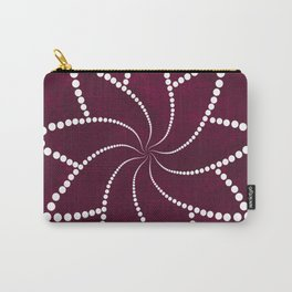 Zen Floral Mandala Carry-All Pouch