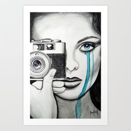 Picture of You Art Print