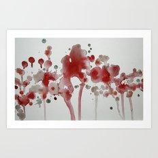 Ping Art Print
