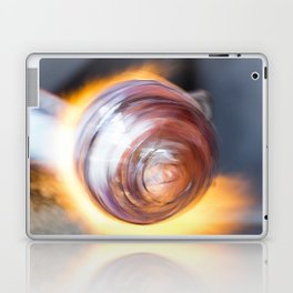 Blowing Glass Laptop & iPad Skin