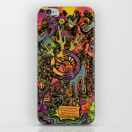 Psychedelic Desert iPhone Skin