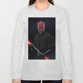 Darth Maul Long Sleeve T-shirt