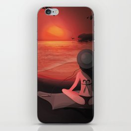 The perfect moment iPhone Skin