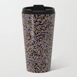 Gilded Fleurs Travel Mug