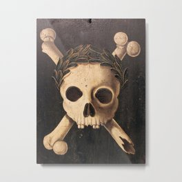 The Plague Metal Print