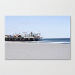 Seaside Pier Canvas Print