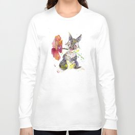 Thumper With Flower Long Sleeve T-shirt