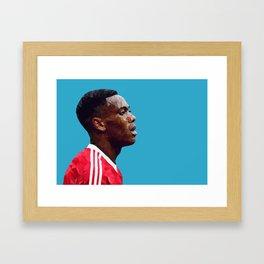 Anthony Martial - Manchester United Framed Art Print