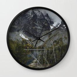 Alpine Lake in Washington Wall Clock