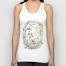 Bucolic forest Unisex Tank Top