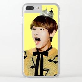 Comic Tae Clear iPhone Case