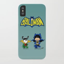 Baldman iPhone Case