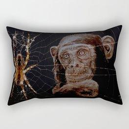 WATCHING THE SPIDER - cversion Rectangular Pillow