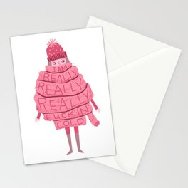Really Really Really Fucking Cold Stationery Cards