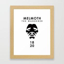A Century of Horror Classics :: Melmoth the Wanderer Framed Art Print